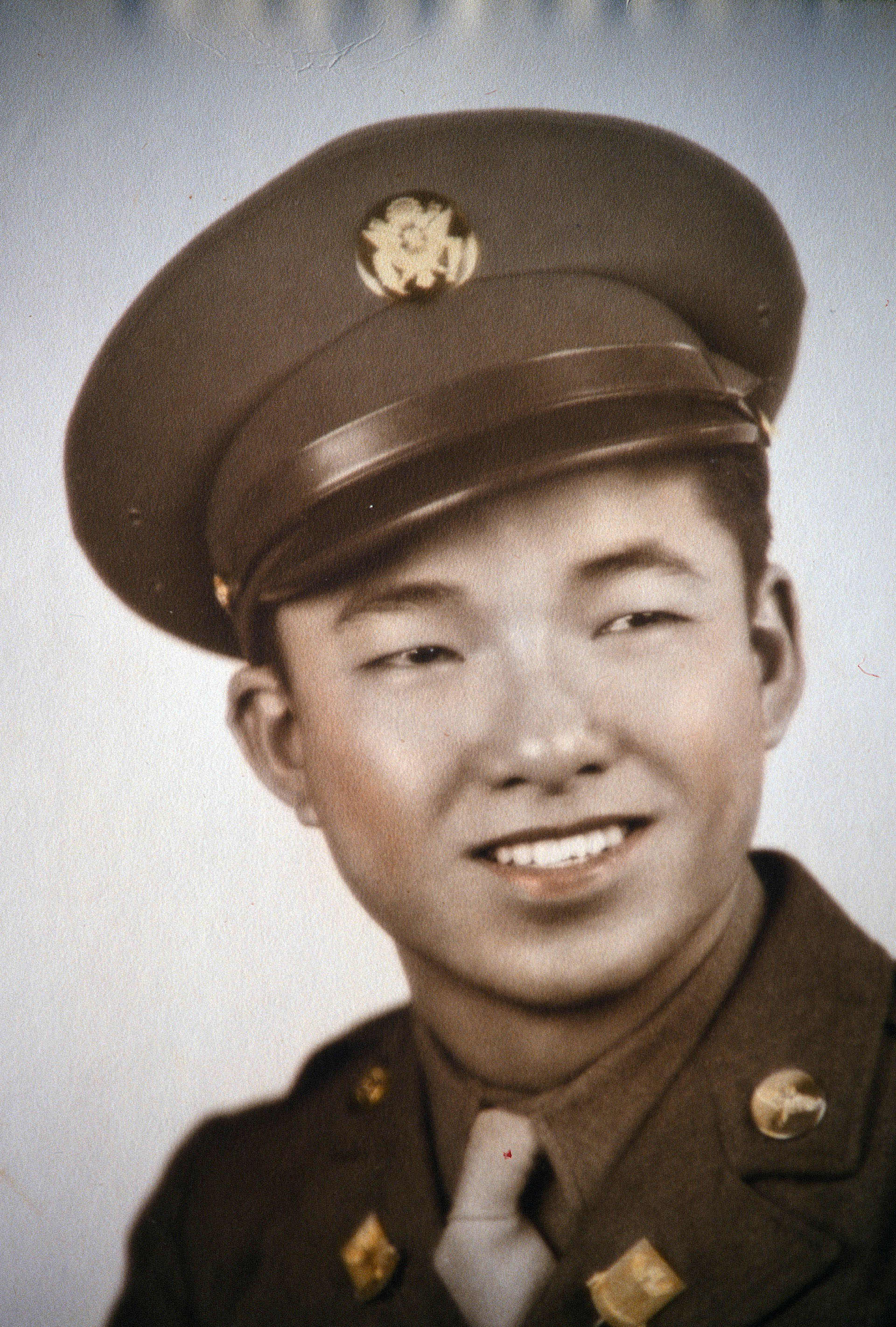 Henry Ong Jr. in Uniform